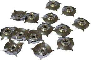 Кнопка -звезда 10 мм CZ-10
