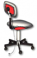Чехлы антистатические DOKA-SIT230A  для стула
