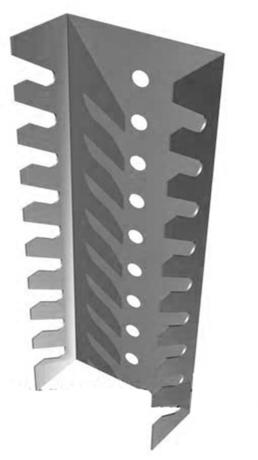Металлический держатель для ключей DOKA-ДК01
