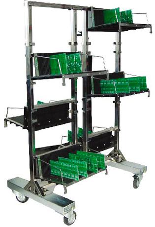 Антистатическая транспортная тележка DOKA-A022 для печатных плат