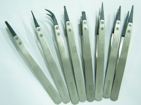 ESD пинцеты ESD-2А, ESD-259A, ESD-7A, ESD-2А, ESD-242, сменный наконечник
